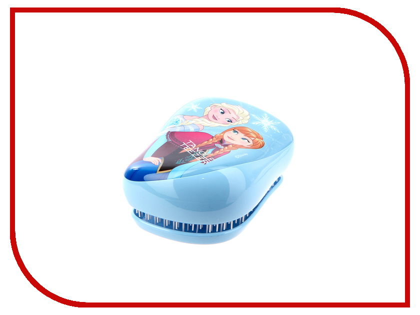 Расческа Tangle Teezer Compact Styler Frozen Disney Blue 370619 disney frozen princess elsa hooded bath poncho