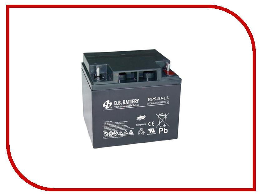 Аккумулятор для ИБП B.B.Battery BPS 40-12