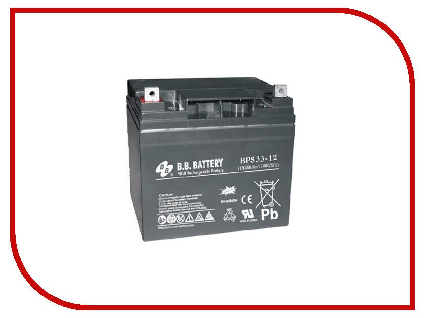 Аккумулятор для ИБП B.B.Battery BPS 33-12