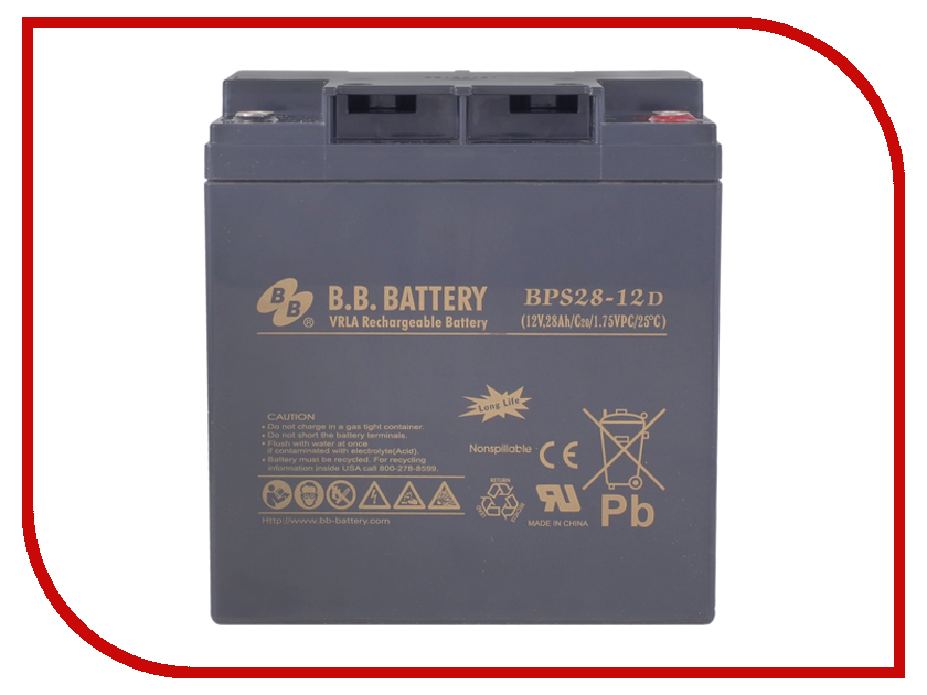 Аккумулятор для ИБП B.B.Battery BPS 28-12D