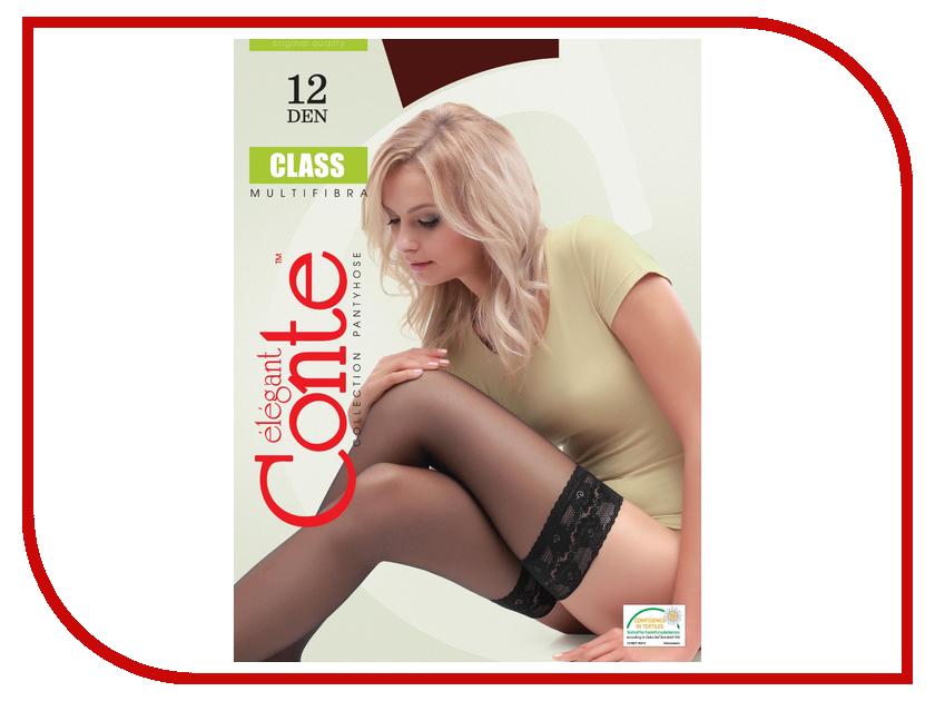Чулки Conte Class размер 2 плотность 12 Den Bronzo