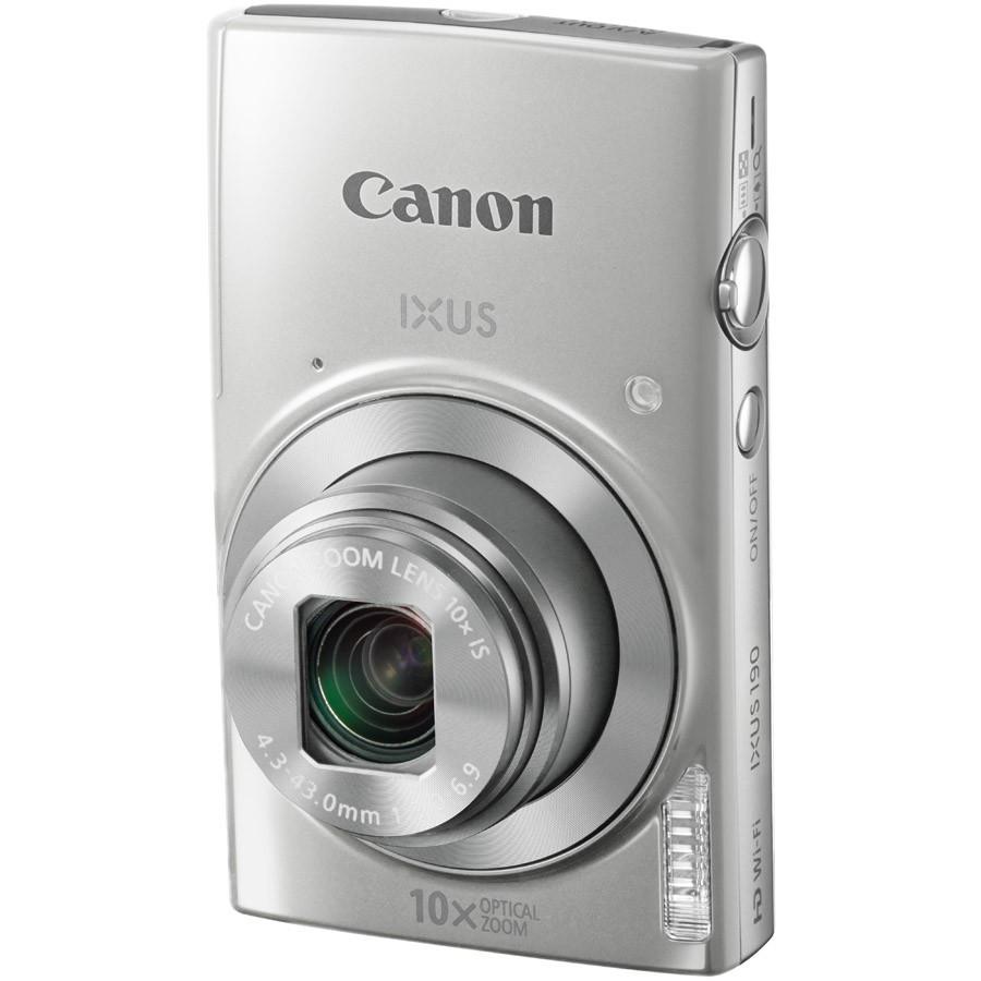 лучшая цена Фотоаппарат Canon IXUS 190 Silver