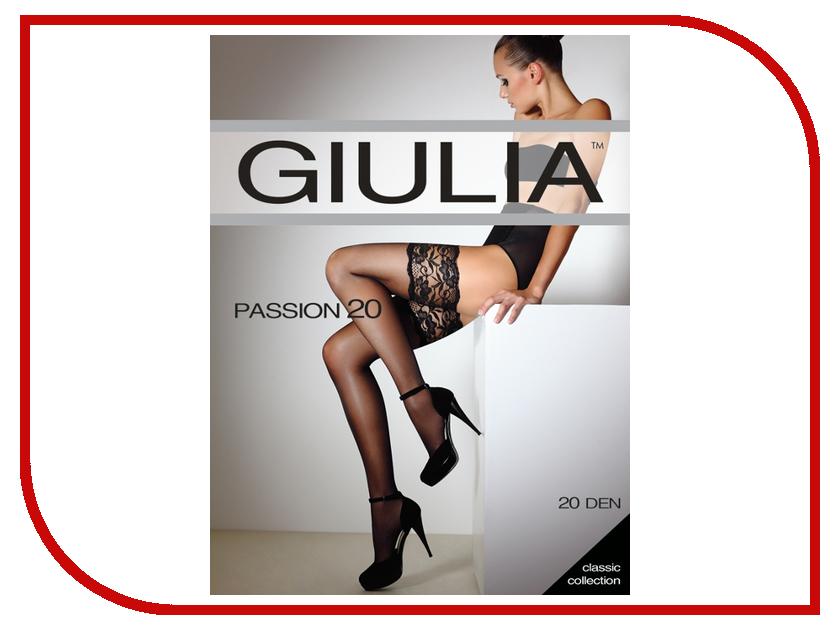 Чулки Giulia Passion размер 1/2 плотность 20 Den Nero<br>