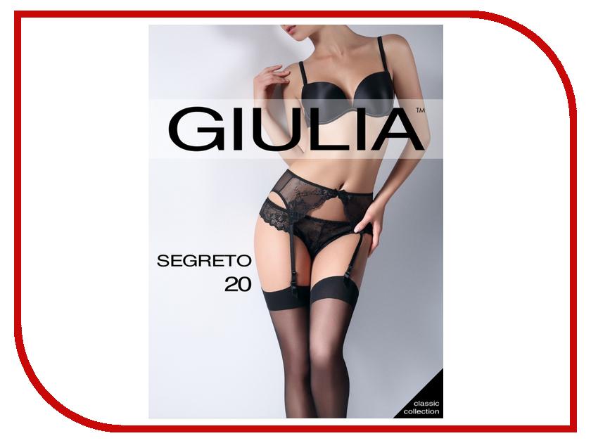 Чулки Giulia Segreto размер 1/2 плотность 20 Den Nero