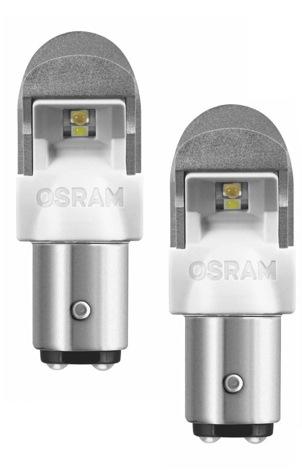 Лампа OSRAM P21 5W 12V BAY15d LED Cool White 1557CW-02B (2 штуки)