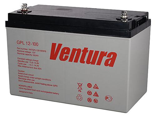 Фото - Аккумулятор для ИБП Ventura GPL 12-100 аккумулятор