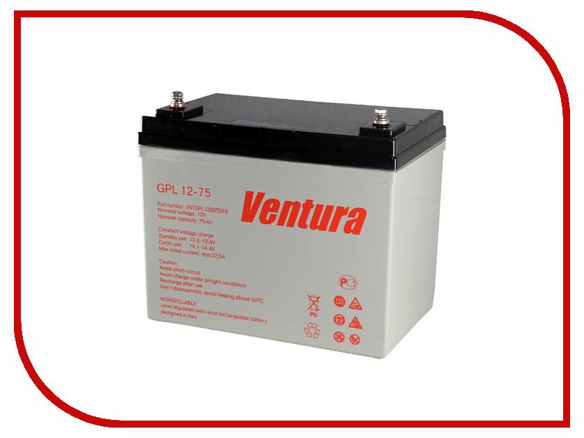 Аккумулятор для ИБП Ventura GPL 12-75