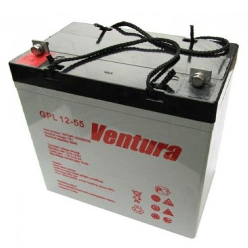 Аккумулятор для ИБП Ventura GPL 12-55 цена 2017