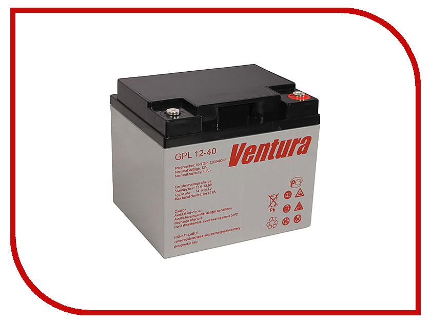 Аккумулятор для ИБП Ventura GPL 12-40 аккумулятор для ибп apc 106 apcrbc106