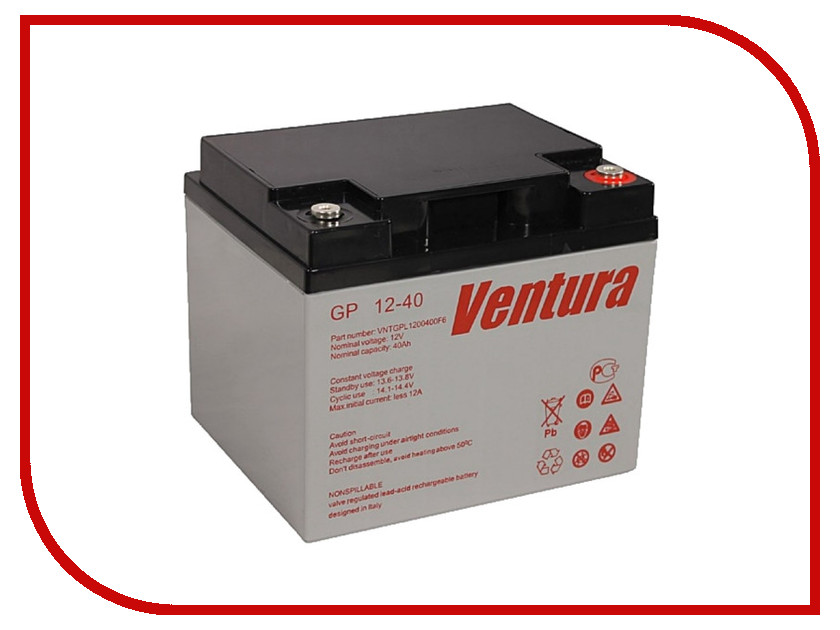 Аккумулятор для ИБП Ventura GP 12-40