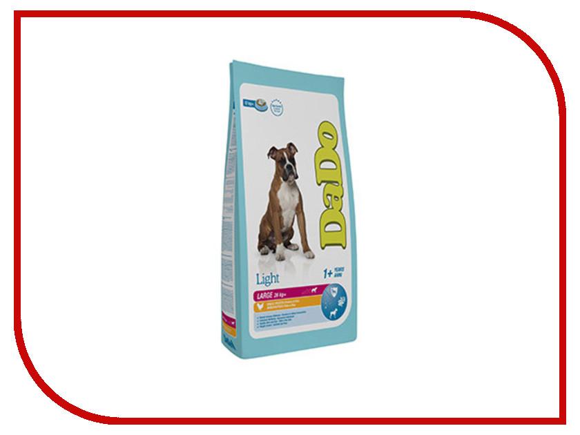 Корм DaDo Курица с рисом 12kg низкокалорийный для собак крупных пород DD668129 колбаса для собак best in курица с рисом 500 г