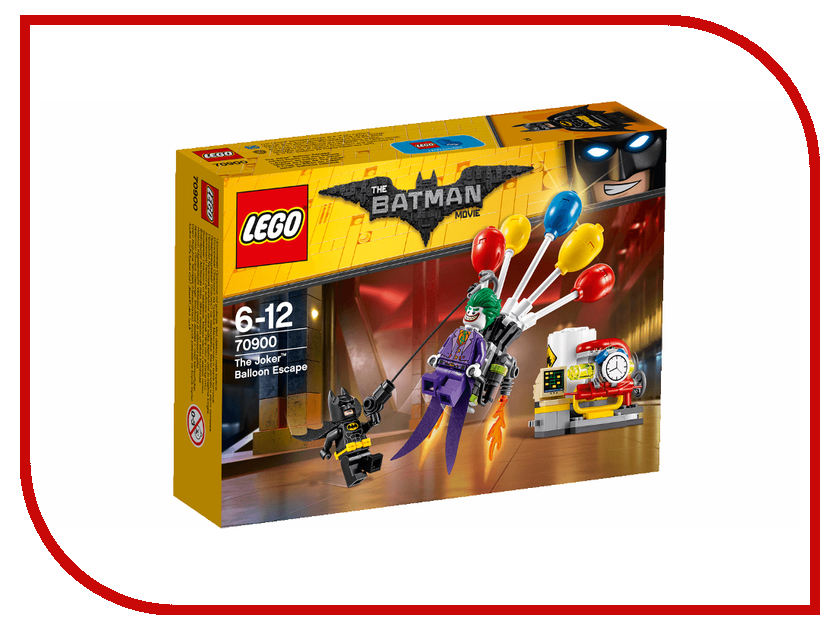 Конструктор Lego Batman Movie Побег Джокера на воздушном шаре 70900 genuine rii mini i8 wireless 92 key qwerty keyboard mouse touchpad with usb receiver black