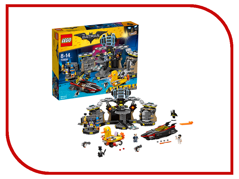 Конструктор Lego Batman Movie Нападение на Бэтпещеру 70909 lego 70900 batman movie побег джокера на воздушном шаре