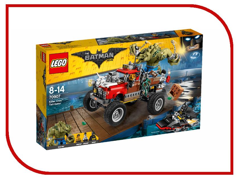 Конструктор Lego Batman Movie Хвостовоз Убийцы Крока 70907
