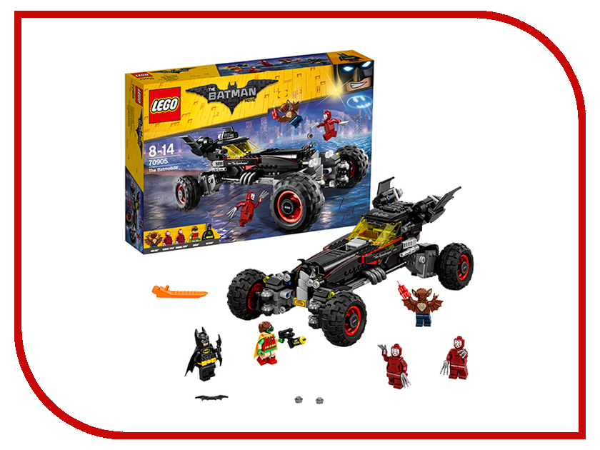 Конструктор Lego Batman Movie Бэтмобиль 70905 конструкторы lego lego атака глиноликого 70904 batman movie