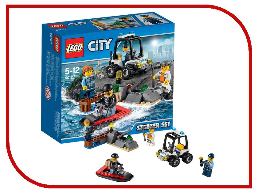 Конструктор Lego City Остров-тюрьма 60127 конструктор lego остров сокровищ 10604