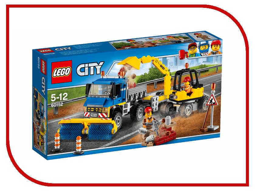 Конструктор Lego City Уборочная техника 60152