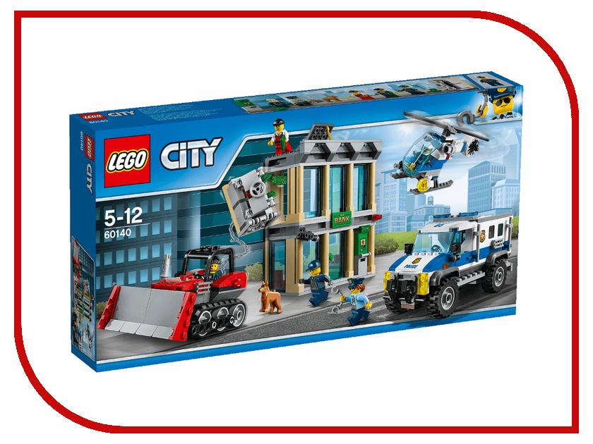 Конструктор Lego City Ограбление на бульдозере 60140 брызговики передние novline autofamily haval h2 2014