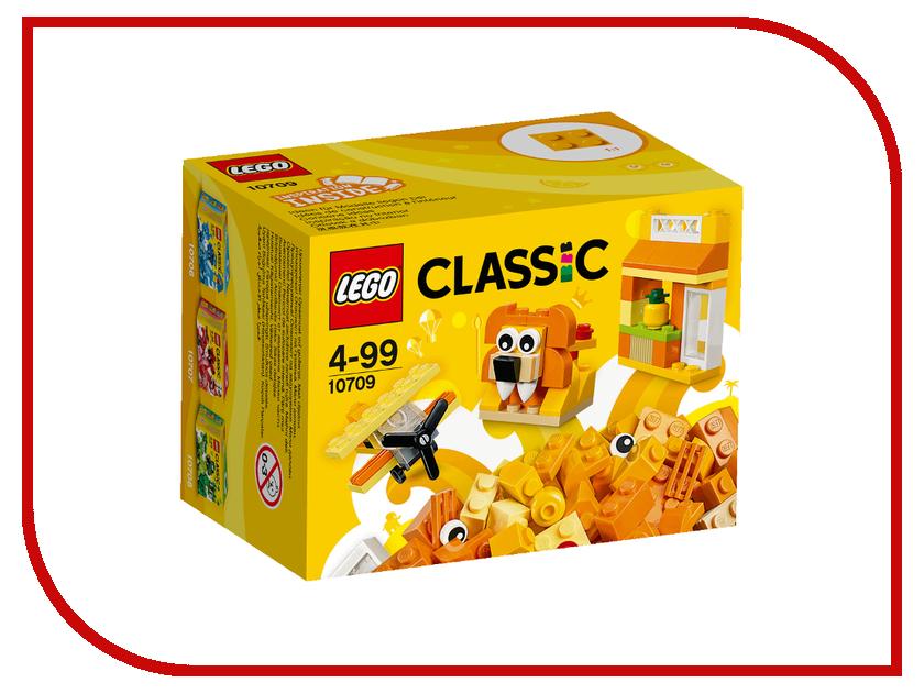 Конструктор Lego Classic Orange 10709 lego classic конструктор дополнение к набору для творчества яркие цвета 10693