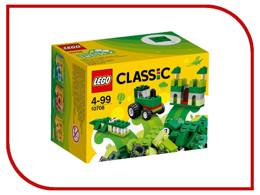 Конструктор Lego Classic Green 10708 lego classic конструктор дополнение к набору для творчества яркие цвета 10693