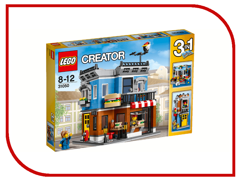 Конструктор Lego Creator Магазинчик на углу 31050 конструктор lego creator мотоцикл оранжевый 31059