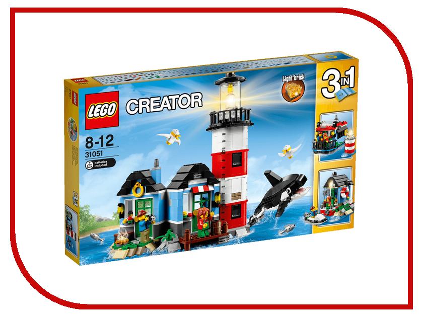 Конструктор Lego Creator Маяк 31051 конструктор lego creator мотоцикл оранжевый 31059