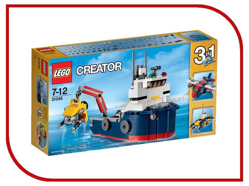 Конструктор Lego Creator Морская экспедиция 31045 конструктор lego creator мотоцикл оранжевый 31059