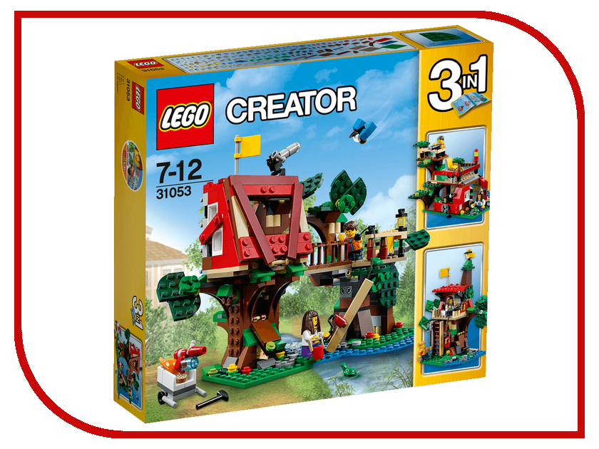 Конструктор Lego Creator Домик на дереве 31053 конструктор lego creator мотоцикл оранжевый 31059