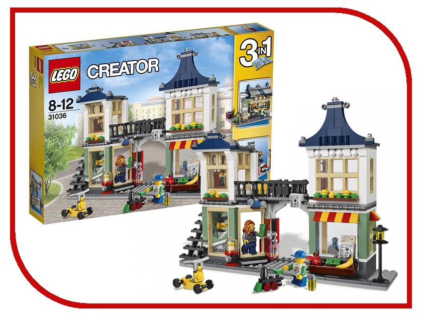 Конструктор Lego Creator Магазин по продаже игрушек и продуктов 31036