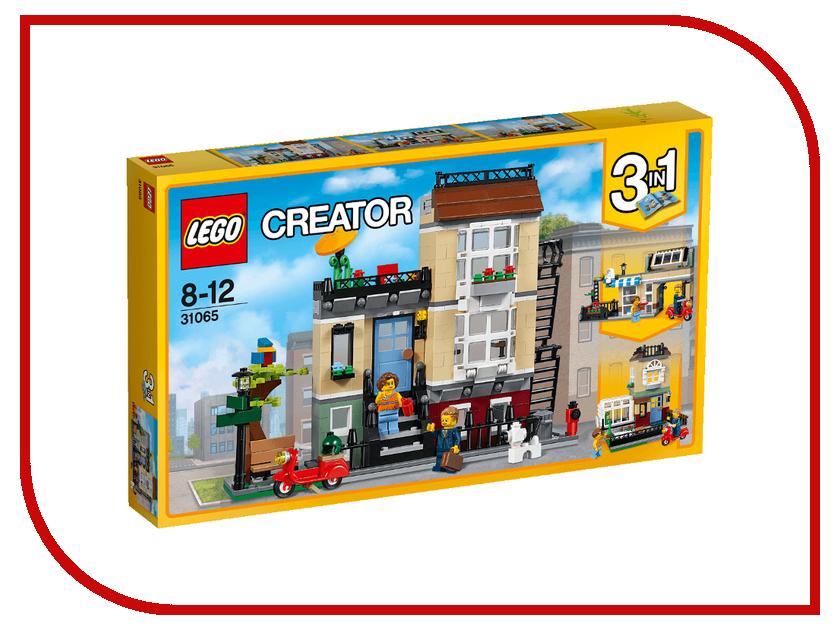 Конструктор Lego Creator Домик в пригороде 31065 lego creator конструктор летающий робот 31034