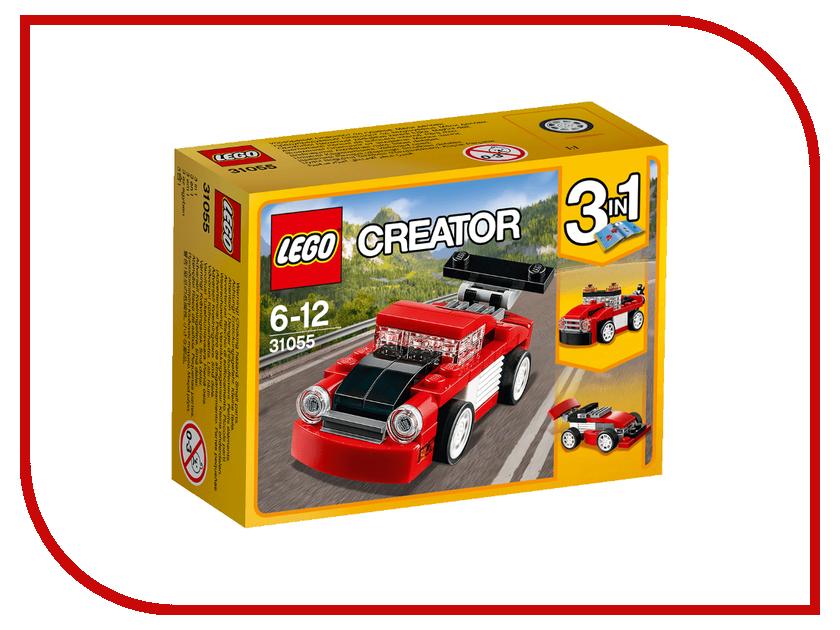 Конструктор Lego Creator Гоночная машина Red 31055 конструктор lego creator мотоцикл оранжевый 31059