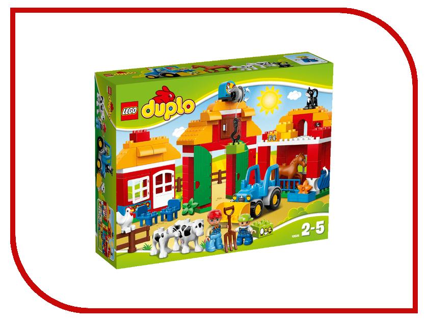 Конструктор Lego Duplo Большая ферма 10525 конструктор lego duplo лесной заповедник 10584