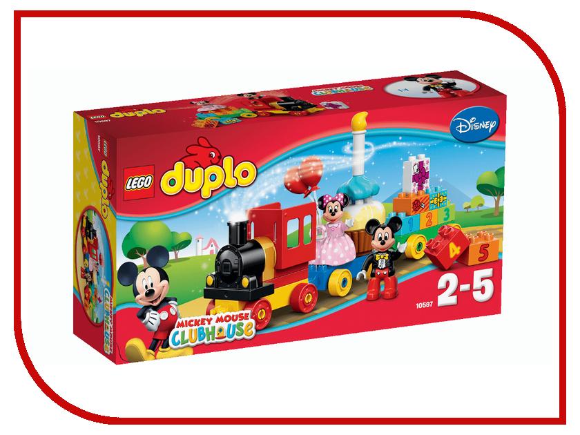 Конструктор Lego Duplo День рождения с Микки и Минни 10597 игрушка для животных каскад удочка с микки маусом 47 см