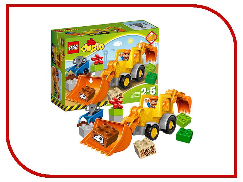 Конструктор Lego Duplo Экскаватор-погрузчик 10811 конструктор lego duplo лесной заповедник 10584