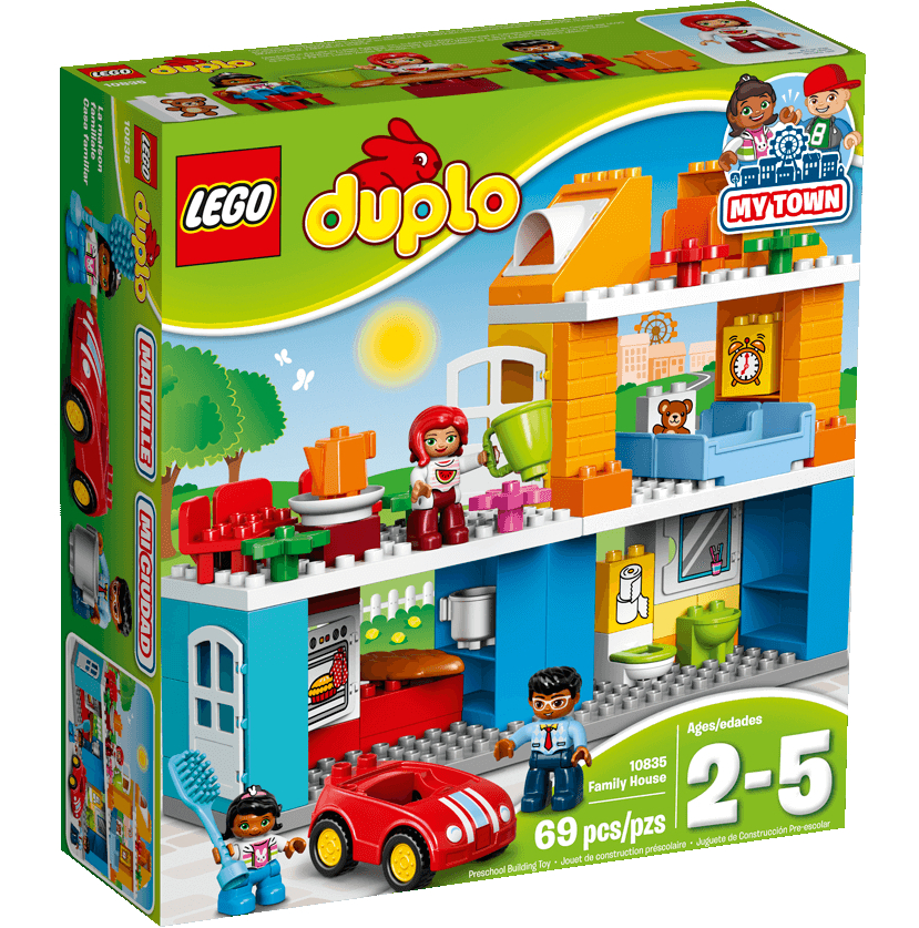 Конструктор Lego Duplo Семейный дом 10835