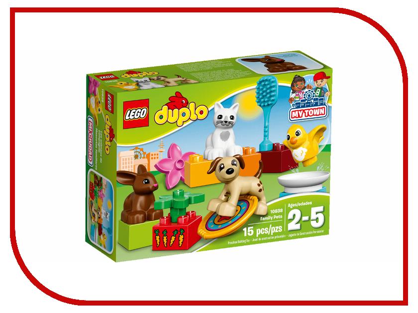 Конструктор Lego Duplo Домашние животные 10838 lego duplo конструктор моя первая ферма