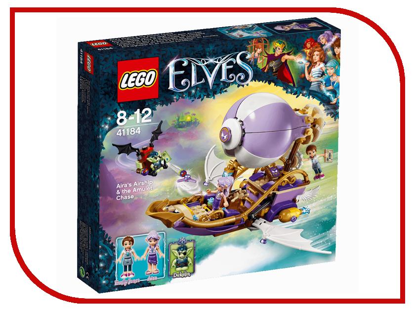 Конструктор Lego Elves Погоня за амулетом 41184 конструктор lego elves встреча наиды с гоблином воришкой 41181