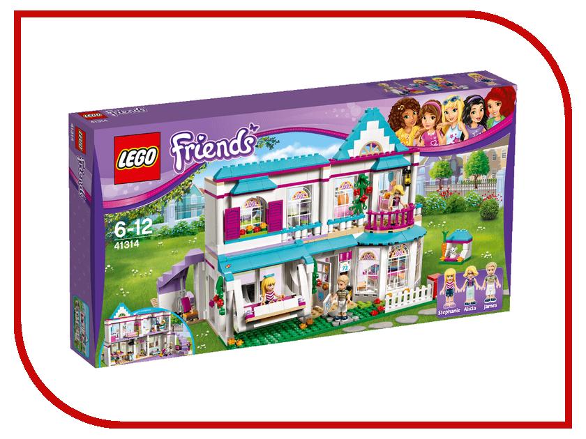 Конструктор Lego Friends Дом Стефани 41314 конструктор lego friends кондитерская стефани 41308
