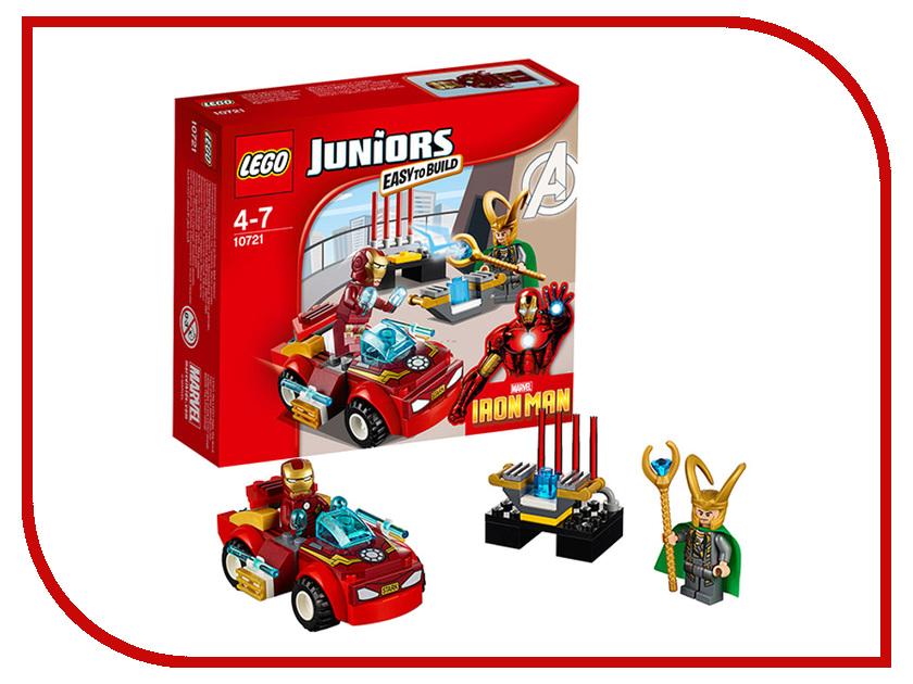Конструктор Lego Juniors Железный человек против Локи 10721