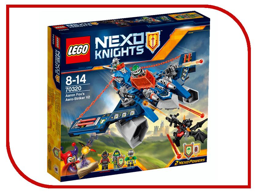 Конструктор Lego Nexo Knights Аэро-арбалет Аарона 70320 lepin nexo knights axl glob lobber combination marvel building blocks kits toys minifigures compatible legoe nexus