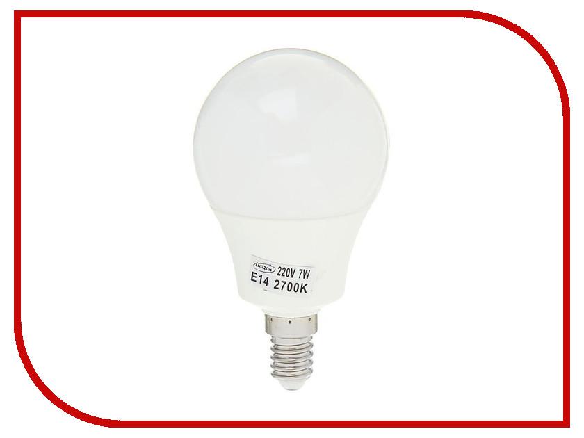 Лампочка Luazon E14 7W 2700К SMD2835 LED 560Lm 1559783 лампочка luazon e14 3w 4200к smd2835 led 240lm 1559780