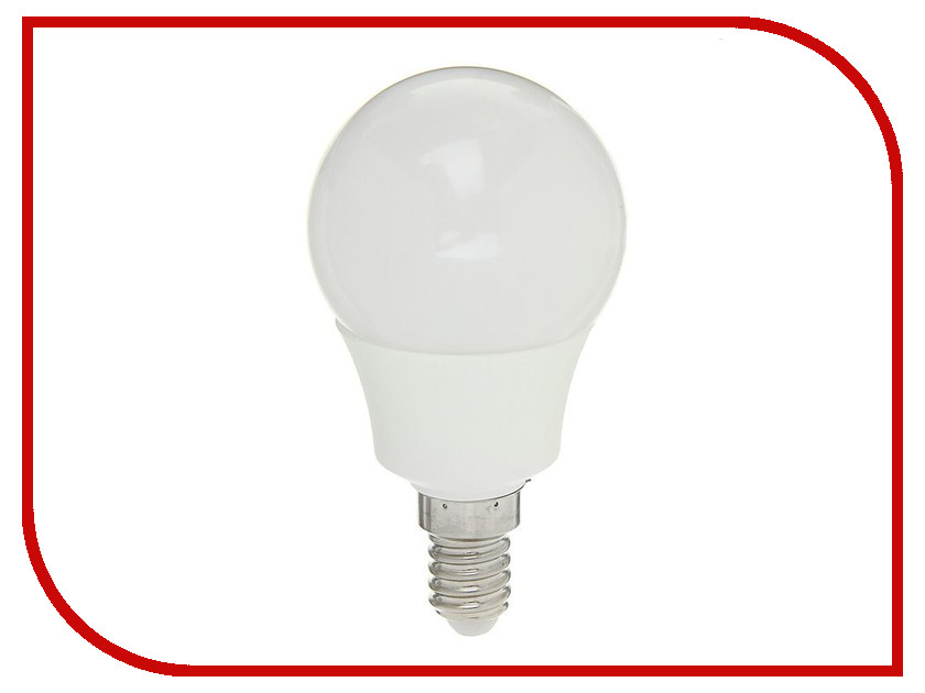 Лампочка Luazon E14 5W 4200К SMD2835 LED 400Lm 1559782 гирлянда luazon дождь 2m 6m multicolor 671678