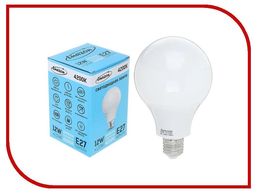 Лампочка Luazon E27 12W 4200К AL 1489122