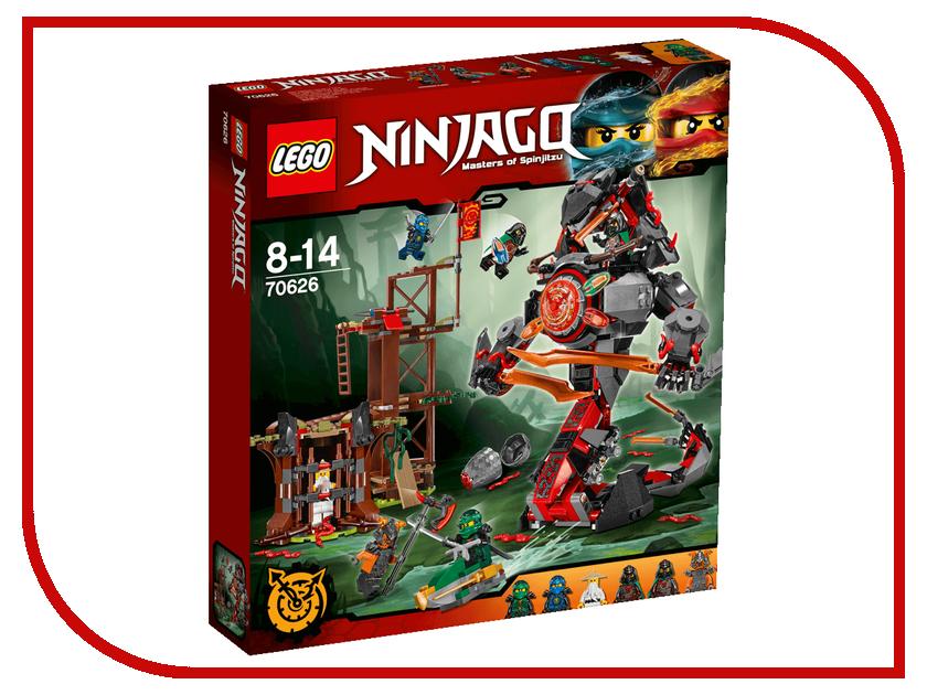 Конструктор Lego Ninjago Железные удары судьбы 70626