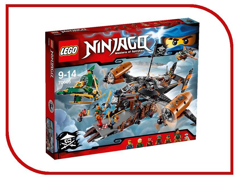 Конструктор Lego Ninjago Цитадель несчастий 70605 конструктор lego ninjago дирижабль штурмовик 70603