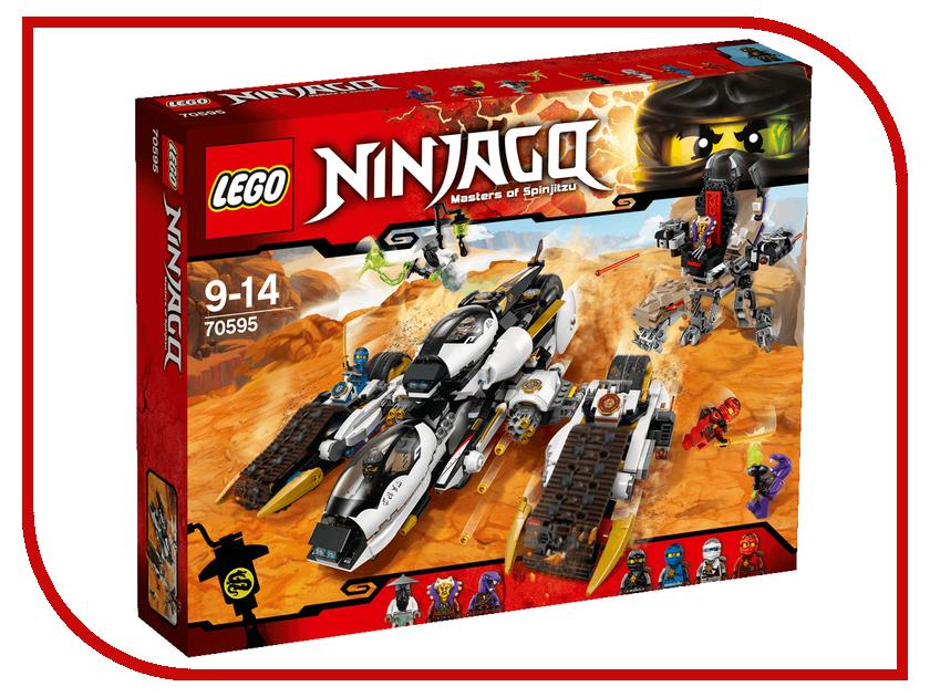 Конструктор Lego Ninjago Внедорожник с суперсистемой маскировки 70595 lego city конструктор внедорожник каскадера 60146