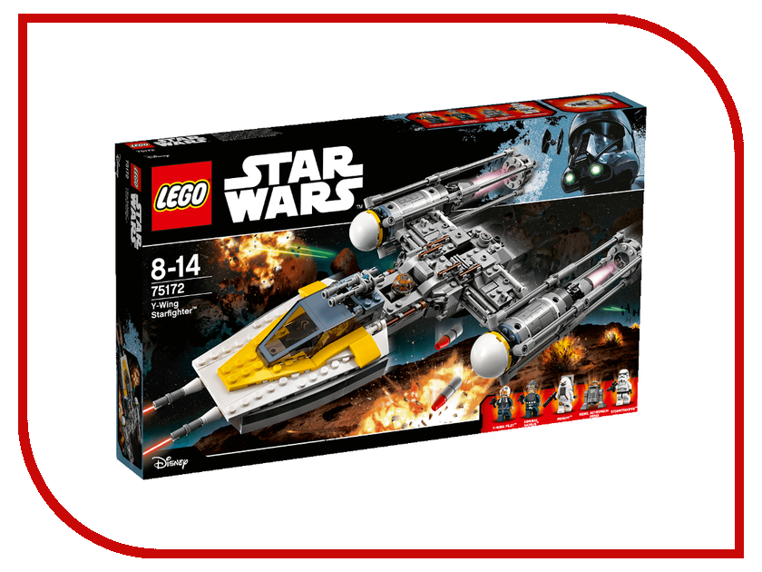 Конструктор Lego Star Wars Звёздный истребитель типа Y 75172 lego lego star wars 75092 истребитель набу™ naboo starfighter™