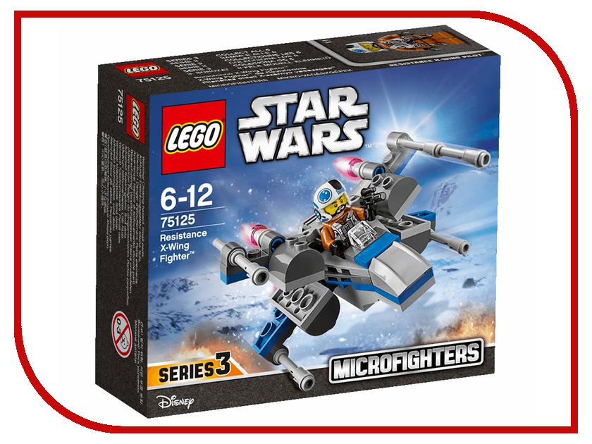 Конструктор Lego Star Wars Истребитель X-wing Сопротивления 75125 конструктор lego star wars военный транспорт сопротивления 75140