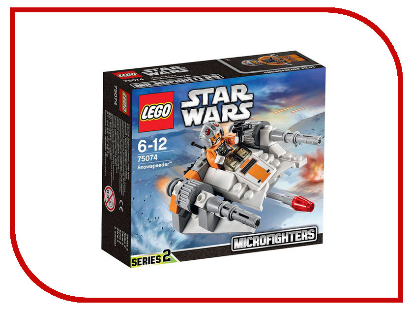 Конструктор Lego Star Wars Снеговой спидер 75074 lego lego star wars 75074 лего звездные войны снеговой спидер