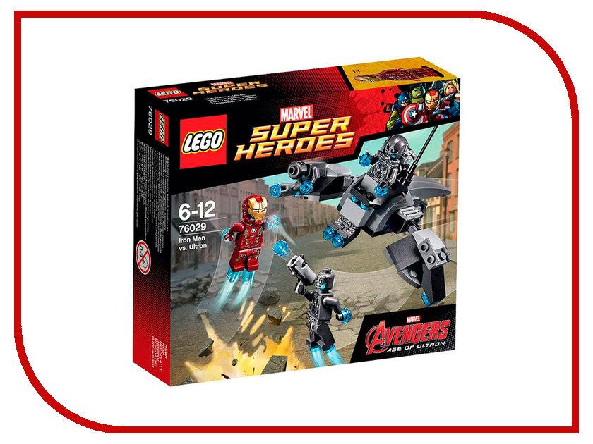 Конструктор Lego Super Heroes Железный человек против Альтрона 76029 конструктор lego super heroes росомаха против магнето 76073